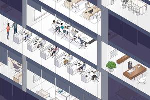 Framtidens kontor? Nygammalt paradigmskifte på det aktivitetsbaserade kontoret | av Lena Lid-Falkman och Emma Stenström