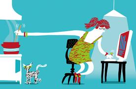 Sociala medier  som ettsätt att skapa  ett nytt(arbets)liv | av Lena Lid Falkman,  Sara Rosengren och Karl Wennberg