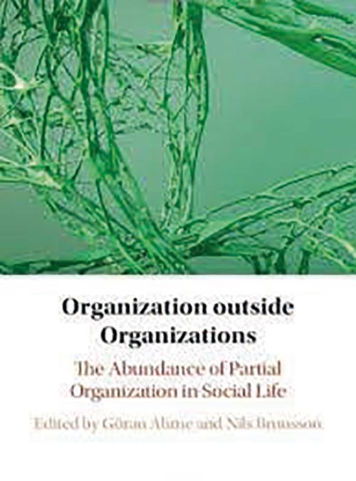 Organizations outside, bokomslag